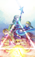 Triforce of Courage by princecj