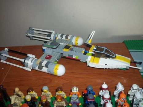 the Y-wing by Darkwing385
