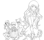 UTAU album cover: Roots WIP by AkiGlancy
