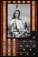 AMERICAN Legend Red Cloud by SaintIscariot