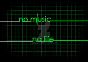 no music no life by devilkuan
