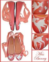 Pink deer by miss-bunny-shoes