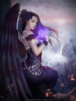 Crow queen 2 by NPye13