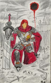 Knight of Fading Flames by Jblask