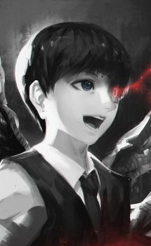 Kaneki Ken [Black] by jingsketch
