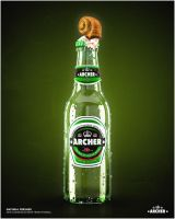 Archer Beer by automatte