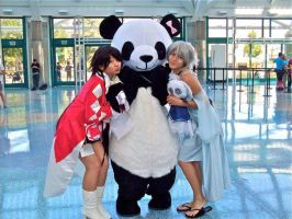 Alice and Abyss loves Pandas by Super-Tofu