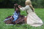 Kili and Fili 2013 - Female Version braiding time by Spinelie