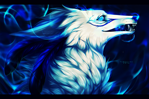 'Going up in blue flames' [G] by Vyrosk