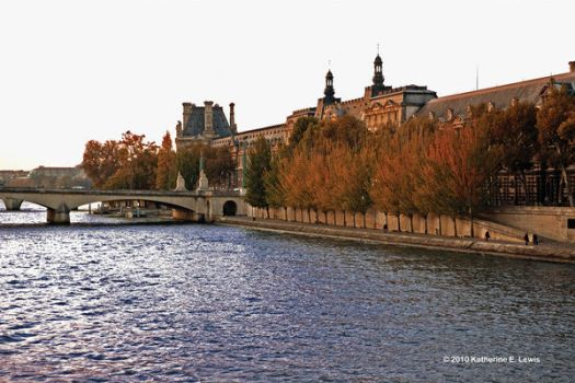 Paris Seine River Vista by SempreSirena