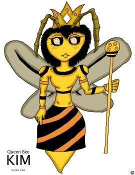 Queen Bee Kim by ThaMaJesticArtist
