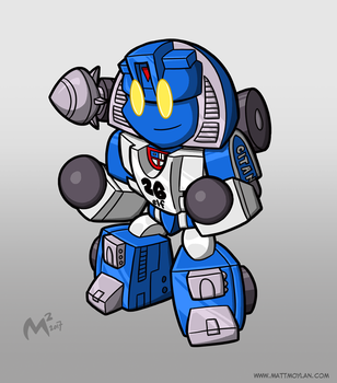 1984 Autobot Mirage by MattMoylan