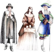 Tartuffe Costumes 2 by ScottAronow