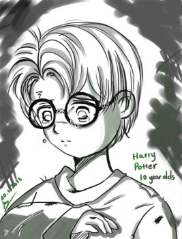 Harry Potter 10 years olds by Lad1991