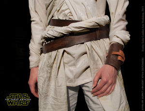 Rey's Wrist Cuff and Belt (Star Wars: Episode VII) by Svetliy-Sudar