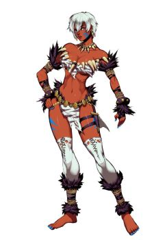 Ultra Street Fighter IV - Elena alt outfit by GENZOMAN