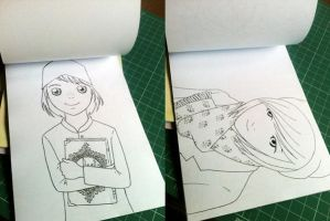 Preview Inside Coloring Book vol 3 by madna29