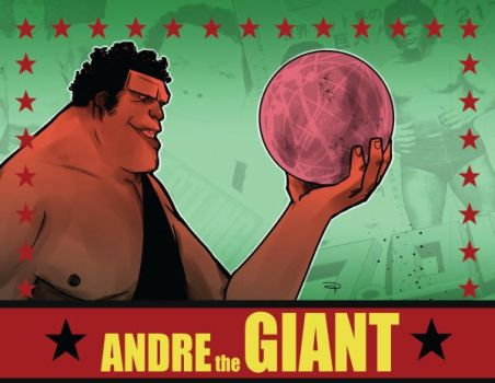 Andre the Giant Graphic Novel - coming soon by DenisM79