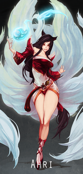 Ahri by dutomaster