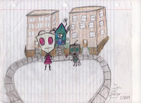 Old Zim Picture by dumblikeamose
