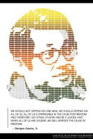 Ninoy Typography by aremOgraphy