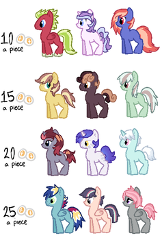 More Adoptables by cat4lyst
