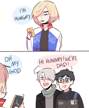 YOI: DAD JOKES by Randomsplashes