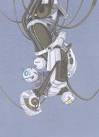 GLaDOS by Nick-of-the-Dead