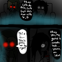 Two CREEPY friends play PORTAL 2 by PigsXCanXFly
