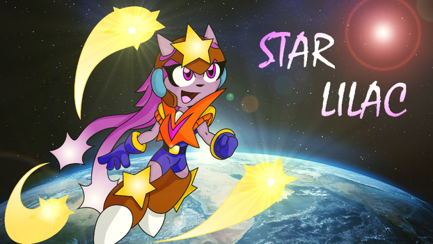 Mega Man x Freedom Planet - Star Lilac (For Sale!) by TheCartridgeTilter
