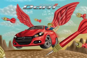 Dart is in the air. by Fabio-P