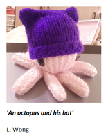 An octopus and his hat by Stitch-Happy