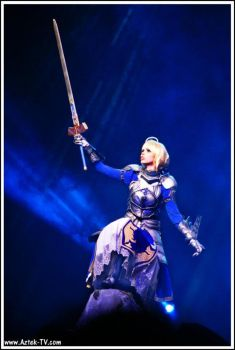 Fate/Stay Night - Saber - ECG 2012 by Calssara