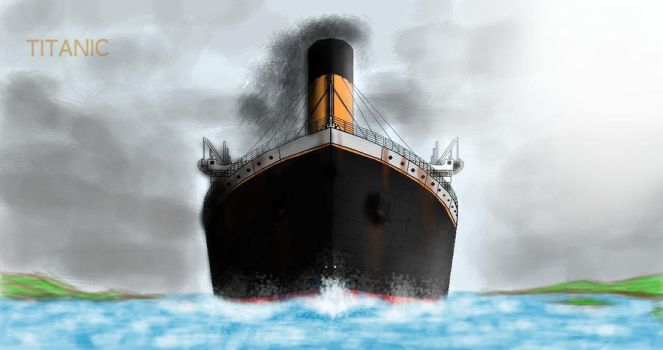 RMS Titanic by Admiral-Kevin