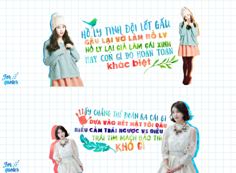 [23122015] IU Quotes by Jor2k2
