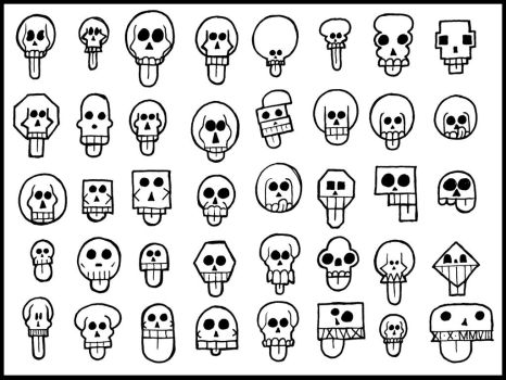 Skulls by GraphicFoundry