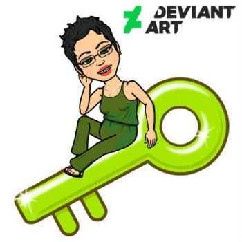 Welcome to my Deviantart page logo by cookiebaby722