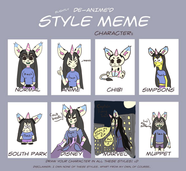 Style meme: Teejay by Teejay-and-Wei
