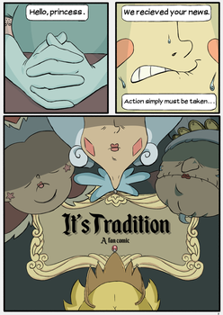 It's Tradition #1 by bitter-knitter