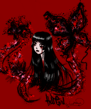 Hell Girl by LunaMistique