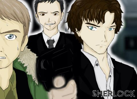 Sherlock - The Pool by Kei-Angelus