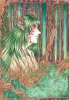 Spirit of the Forest by Sokura