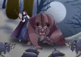 Beauty and the Beast by Npr1977