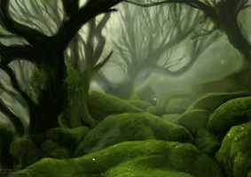 Heart of the Forest by Inui-Purrl