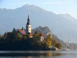 Lake Bled by T1sup