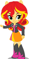 Sunset Shimmer - Equestria Girls Mini by seahawk270