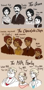 The Cookie Mobster Families by cookiekhaleesi