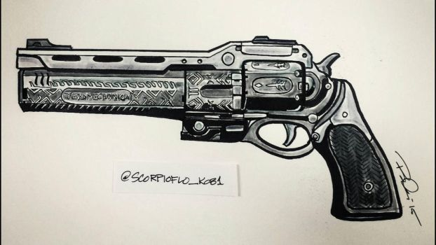 The Last Word exotic hand cannon by KobOneArt