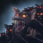 Rat swarm by jayodjick