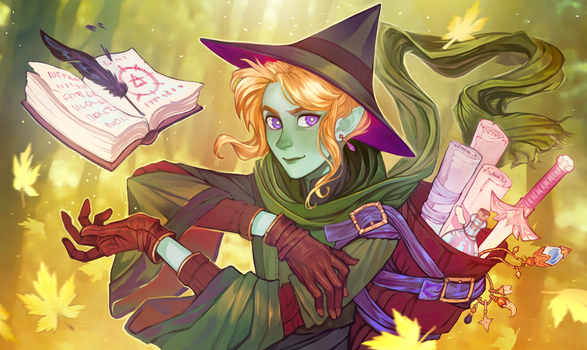 Wizard by tinypaint